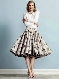 Модные пышные юбки 2018-2019 года, фото, новинки, тренды