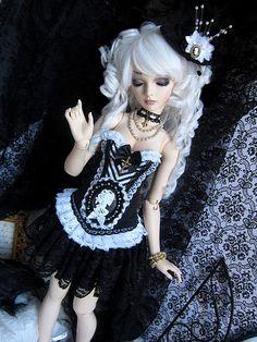 Gothic Aristocrat by ~ Eglantine ~, via Flickr