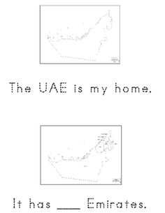 United arab emirates coloring page love the uae pinterest national day book with english and arabic picture vocabulary cards stopboris Choice Image