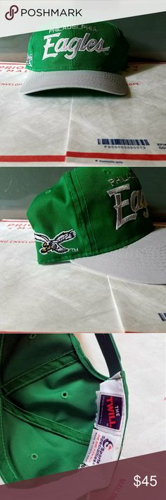 4c9c445692681 Vintage Philadelphia Eagles Snapback Brand new without tags. Made by Sports  Specialties. Very rare