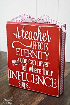 DIY Teacher Appreciation Gifts