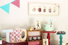 Gingham And Bunting Guest Dessert Feature | Amy Atlas Events