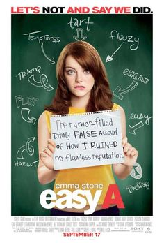 Easy A Online. Watch Easy A Online HD Stream online subtitle. Get Full Watch Easy A Online. A clean-cut high school student relies on the school's rumor mill to advance her social and financial standing. Emma Stone, See Movie, Movie Tv, About Time Movie, All About Time, Tnt Series, Cinderella Story, Penn Badgley, Movies Worth Watching