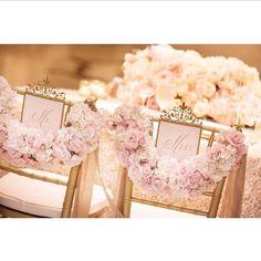 Lovely floral chair covers | réépinglé par #tanaga