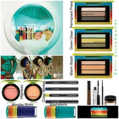 #MAC WashAndDry #Collection