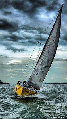 ⚓ Come Sail Away with Me {ocean, lake, beach, boats} ⚓ Catamaran, Yacht Boat, Sail Away, Tall Ships, Water Crafts, Sailing Ships, Sailing Boat, Sailboat Racing, Photos