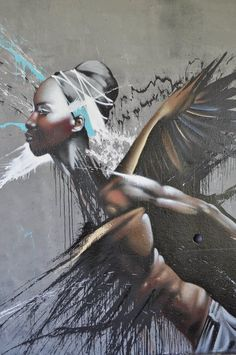 SMATES http://www.widewalls.ch/artist/smates/ #streetart #spraypaint #muralart #graffitiart #3Dgraffiti