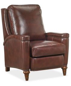 Pacey Leather Recliner | macys.com