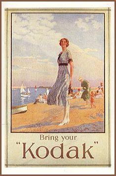 Reproduction of 1925 English Kodak poster.