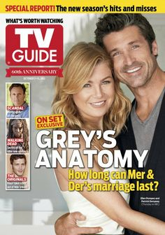 """GREY'S ANATOMY"" 10-07-2013 Starring: Ellen Pompeo and Patrick Dempsey"