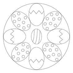 Osterei-Mandala 1
