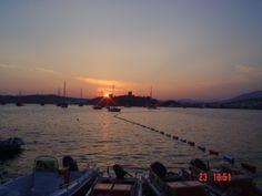 Gün batımı Bodrum