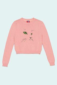 Opening Ceremony cat sweater