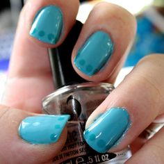 April 23rd - Dotted French Manicure