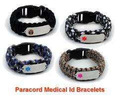 Medical Paracord Survival Bracelets Medids Más Parachute Cord