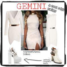 A Cool Edgy Twins Gemini