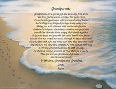 GRANDPARENTS Personalized Gift and Keepsake by CreationsByFrannie