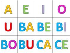 Sílabas directas Free Homeschool Curriculum, Spanish Activities, Alphabet, Preschool, Projects To Try, Clip Art, Classroom, Education, Learning