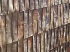 Use flattened commerical size tin cans as shingles