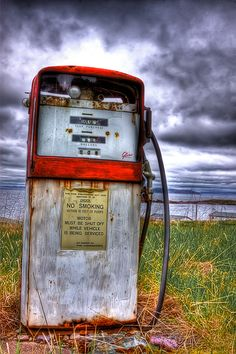 Antique Gas Pump HDR by *Witch-Dr-Tim on deviantART
