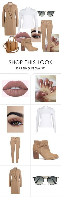"""""""I ain't sorry"""" by demy14love on Polyvore featuring River Island, Barbour, Sole Society, Harris Wharf London and Ray-Ban"""