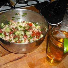 Shellfish: Jose's Shrimp Ceviche - Skiff Life - Flats and Back Bay Fishing