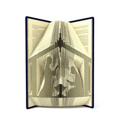 Book folding pattern - NATIVITY - 253 folds + Tutorial with Simple pattern - Heart - HO0108