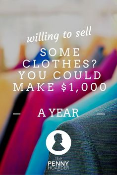 List your clothes, shoes and purses on Tradesy, and you could bring in some serious cash! Here's how to sell clothes online and maximize your profits. Hobbies To Take Up, Things To Sell, Way To Make Money, Make Money Online, Work From Home Moms, Money Matters, Money From Home, Money Saving Tips, Extra Money