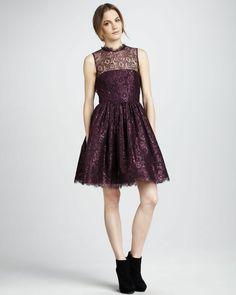 alice + olivia Ophelia dress