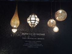 @MayDesignSeries 2015 - Moroccan Lighting