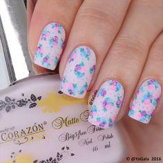 SIMPLY CUTE FLOWERS BY #Repost @yagala ・・・ Floral nail art Full length video with explanation is on my YouTube channel, link is in my bio I use: El Corazon No.111 Kaleidoscope No.I-02, No.I-03, No.I-12 @el_corazon_shop  My discount code:  yagala-ec10%en . . Цветочки Видео полностью и с объяснениями можно посмотреть на моем канале YouTube, ссылка в профиле Лаки: El Corazon No.111 Kaleidoscope No.I-02, No.I-03, No.I-12 @el_corazon_art_direct . . Song: Andy Grammer - Honey, I'm Good