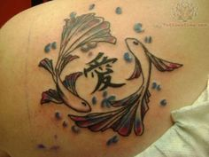 pisces/chinese symbol tattoo