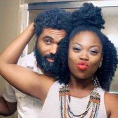 You Don't Take The Time You Have Together For Granted - Why Long-Distance Relationships Are Actually Awesome - Photos Black Love Couples, Cute Couples, Fred Instagram, Pelo Afro, Black Families, Photo Couple, Natural Hair Inspiration, My Black Is Beautiful, Romantic Couples