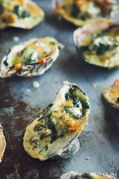 Quick Classics: Oysters Rockefeller Makes a Sexy Appetizer   Pepper.ph