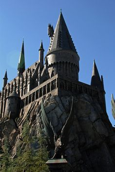 Hogwarts, The Wizarding World of Harry Potter (Universal Studios Hollywood), Orlando, Fl.