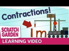 Contractions!   Scratch Garden - YouTube