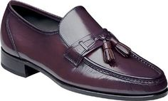 Florsheim Men's Como Tassel Loafers,Dark Cherry,11.5 B US