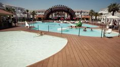 The calm before the storm at Ushuaia Ibiza Beach Hotel!