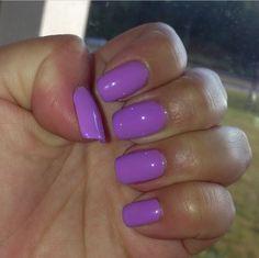 Summer purple nails