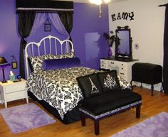 #Tween Girls Room Ideas - Bing Images....would chsnge it up for adult version, same colors....but beautiful all the same.