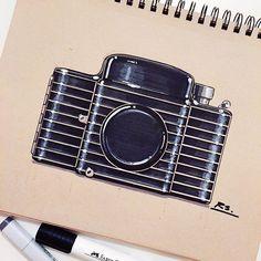 Reid Schlegel - An Art Deco classic, the 1936 Kodak Bantam Special designed by…