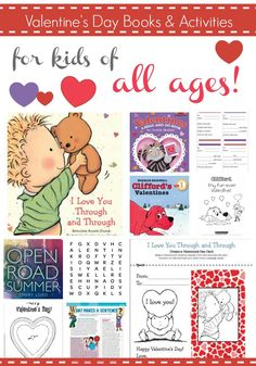 Get the little cupids in your life practicing their reading and writing skills with these books and activities.