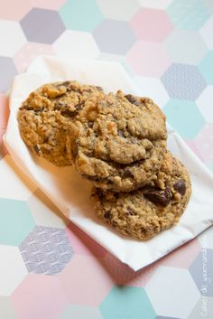 Cookies Chocolat Coco | Cahier de gourmandises