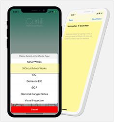 iCertifi V8.4 is out this evening. Check the app-store, it will be live soon.  New 3 Circuit Minor Works #Certificate & new Notes feature added. #electricianlife #electricians #Electrician