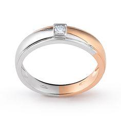 Men S Diamond Wedding Band Ring 0 05 Ct 18k White Rose Gold Oru107 Br