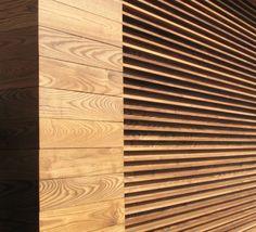 Elewacja drewniana Jesion Thermo Profil faza 17/21 x 130 mm