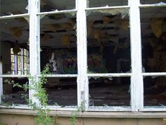 YORKSHIRE AIRFIELDS OF GROUP 4 - Despite its ongoing military role today, many of Driffield's historic wartime buildings lie in ruins, their windows smashed, internal fittings looted and graffiti liberally daubed across their walls.