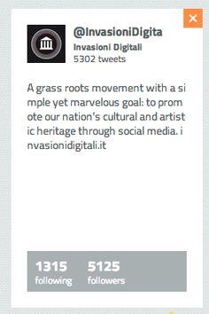 Buzzoole Finder scova per te gli influencers. | VitalbaMorelli.it  Sapete che tra gli #art influencers ho trovato anche le #InvasioniDigitali ?