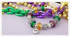 Celebrating Fat Tuesday PANDORA Style! Pandora Bracelets, Pandora Charms, Beaded Bracelets, Vacation Trips, Beads, Tuesday, Fat, Jewelry, Travel