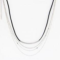 42a5ccc0cc65 Collar Ankor Four   Collar triple   Collar de acero y cordón